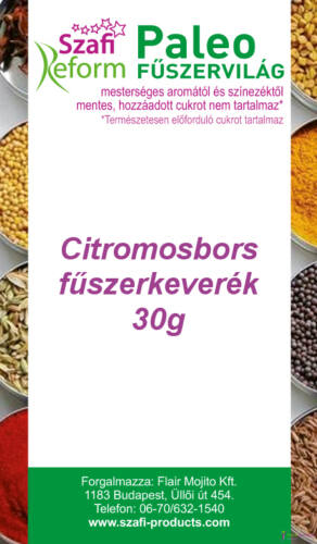 Szafi Reform Citromosbors fűszerkeverék 30 g