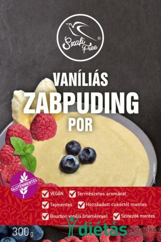 Szafi Free vaníliás zabpuding por (gluténmentes, tejmentes) 300 g