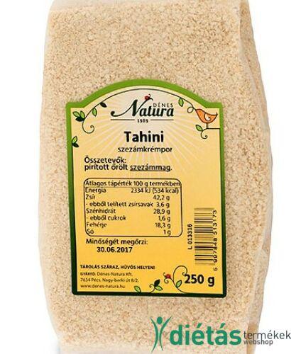 Natura Tahini szezámkrémpor 250g
