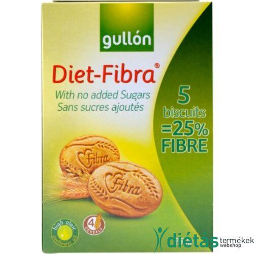 Gullon Diet Fibra rostos keksz (hozzádott cukormentes) 250 g