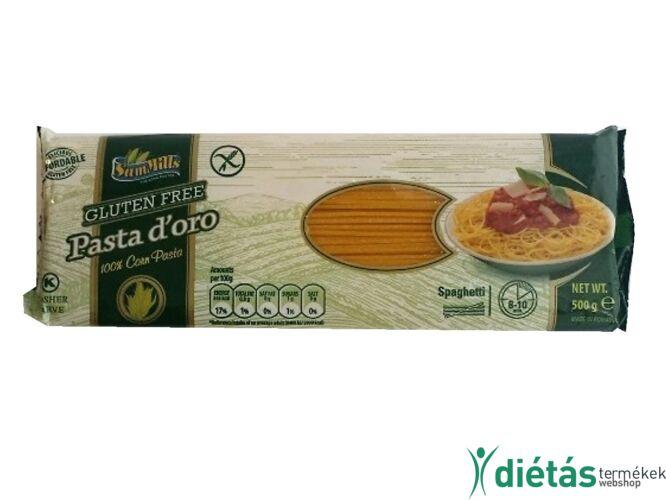 Pasta d'oro Gluténmentes, Tojásmentes SPAGETTI Tészta 500 g
