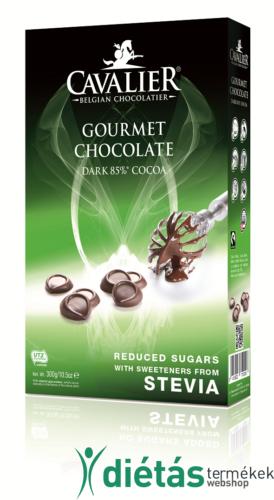 Cavalier étcsokoládé pasztilla 300 g