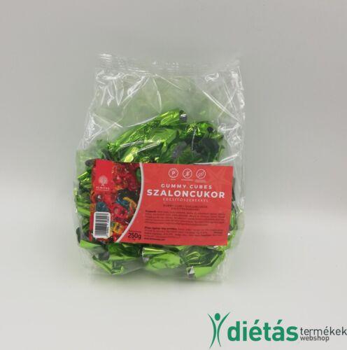 Almitas szaloncukor gumicukros (citrus-lime-ananász) ízesítésű 250 g