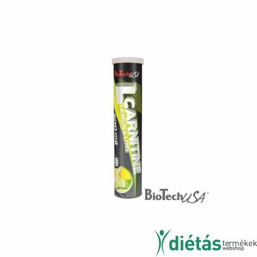 Biotech L-Carnitine citromos pezsgőtabletta 20 db