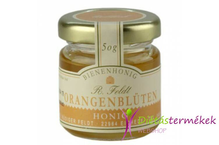 Méz válogatás - narancsvirág 50g