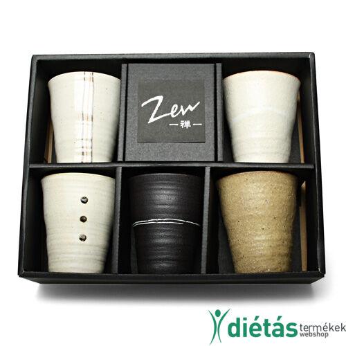 ZEN japán kerámia tea csésze szett