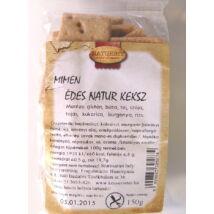 Naturbit Mimen édes natúr gluténmentes keksz (MINDENMENTES) 150g