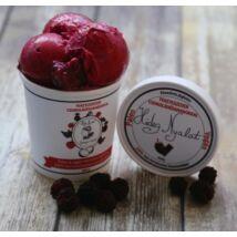 Hideg nyalat Feketeszeder jégkrém csokidarabokkal (paleo, vegán, gluténmentes, tejmentes) 150 ml kicsi