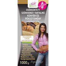Szafi Reform Csökkentett Szénhidrát-tartalmú paleo kenyér és péksütemény lisztkeverék (gluténmentes, tejmentes, élesztőmentes) 1000g