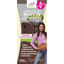 Szafi Reform Étcsokoládé ízű muffin lisztkeverék édesítőszerrel (gluténmentes, paleo) 280 g