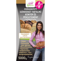 Szafi Reform Csökkentett Szénhidrát-tartalmú paleo kenyér és péksütemény lisztkeverék (gluténmentes, tejmentes, élesztőmentes) 5000 g