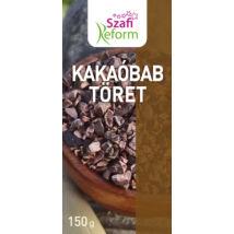 Szafi Reform Kakaóbab töret 150g (hozzáadott cukortól mentes)