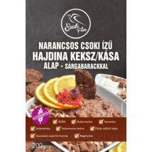 Szafi Free Narancsos csoki ízű hajdina kása / keksz alap - sárgabarackkal 200 g (gluténmentes)