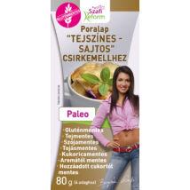 """Szafi Reform Poralap """"Tejszínes - sajtos"""" csirkemellhez (gluténmentes) 80 g"""