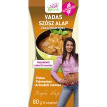 Szafi Reform Vadas szósz alap édesítőszerrel (gluténmentes, tejmentes, mesterséges adalékanyag mentes ) 80g