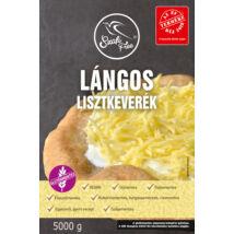 Szafi Free Lángos lisztkeverék 5000 g (gluténmentes, tejmentes, tojásmentes, maglisztmentes, élesztőmentes, vegán)