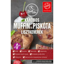 Szafi Free Karobos muffin és piskóta lisztkeverék 5000 g (gluténmentes, tejmentes, tojásmentes, maglisztmentes, zsírszegény, vegán)