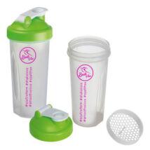 Szafi Free zöld-áttetsző shaker 600 ml