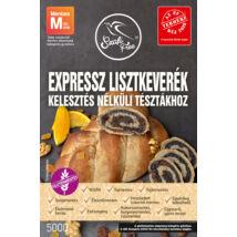 Szafi Free EXPRESSZ lisztkeverék kelesztés nélküli tésztákhoz 5000 g (gluténmentes, tejmentes, tojásmentes, szójamentes, vegán)