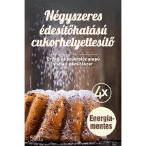 FM Négyszeres édesítőhatású cukorhelyettesítő (eritrit, szukralóz alapú) 500g