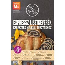 Szafi Free EXPRESSZ lisztkeverék kelesztés nélküli tésztákhoz 1000 g (gluténmentes, tejmentes, tojásmentes, szójamentes, vegán)