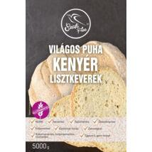 Szafi Free Világos puha kenyér lisztkeverék 5000 g (gluténmentes, tejmentes, tojásmentes, maglisztmentes, élesztőmentes, szójamentes, kukoricamentes)