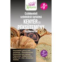 Szafi Reform Csökkentett Szénhidrát-tartalmú paleo kenyér és péksütemény lisztkeverék (gluténmentes, tejmentes, élesztőmentes) 1000 g