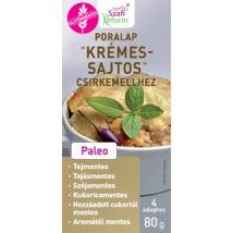 """Szafi Reform Poralap """"Krémes - sajtos"""" csirkemellhez (gluténmentes) 80 g"""