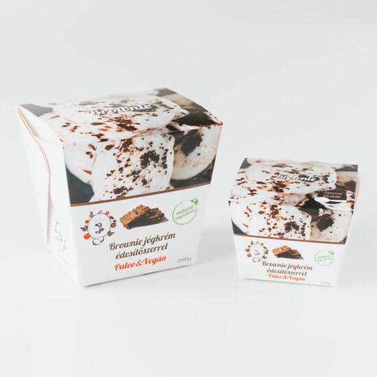 All In brownie jégkrém (paleo, vegán, gluténmentes, tejmentes) 150ml