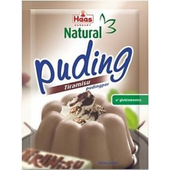 HAAS Natural Gluténmentes TIRAMISU Pudingpor 40 g