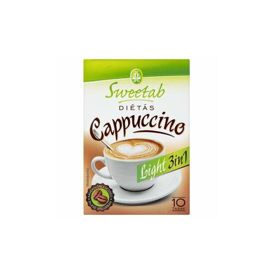 Sweetab Cappuccino (fruktózzal) 10 tasak