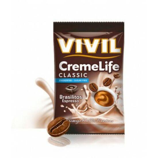 VIVIL Hozzáadott Cukormentes Brasilitos Espresso Kávés cukorka 40 g