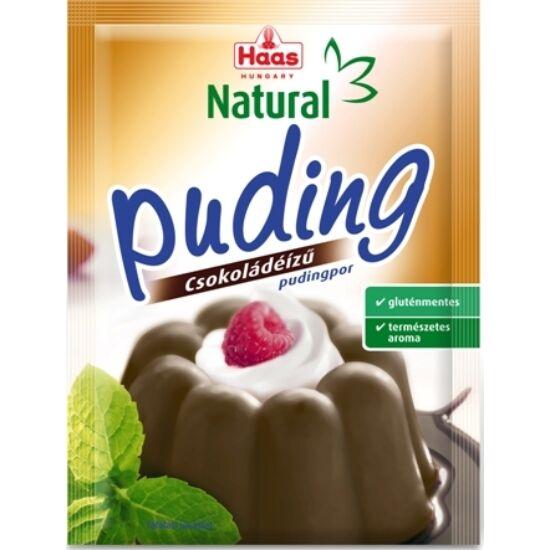 HAAS Natural Gluténmentes Csokoládé Pudingpor 44 g