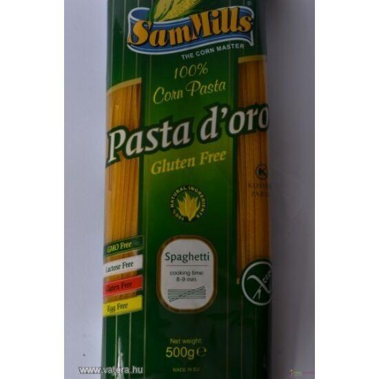 Pasta d'oro Gluténmentes, Tojásmentes SPAGETTI Tészta 500g