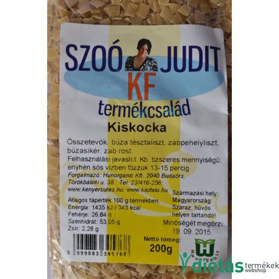 Szoó Judit - Kilófaló - Szénhidrátcsökkentett KISKOCKA tészta (tojásmentes) 200 g