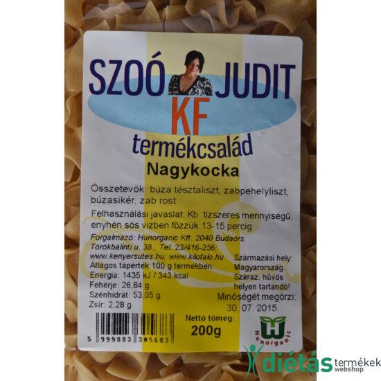 Szoó Judit - Kilófaló - Szénhidrátcsökkentett NAGYKOCKA tészta (tojásmentes) 200 g