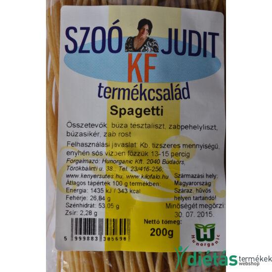 Szoó Judit - Kilófaló - Szénhidrátcsökkentett SPAGETTI tészta (tojásmentes) 200 g