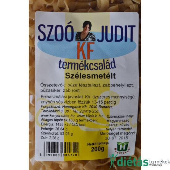 Szoó Judit - Kilófaló - Szénhidrátcsökkentett SZÉLES METÉLT tészta (tojásmentes) 200 g
