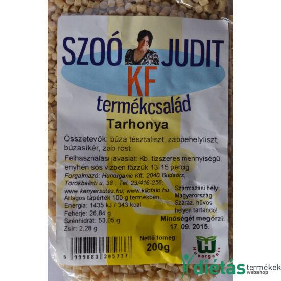 Szoó Judit - Kilófaló - Szénhidrátcsökkentett TARHONYA tészta (tojásmentes) 200g