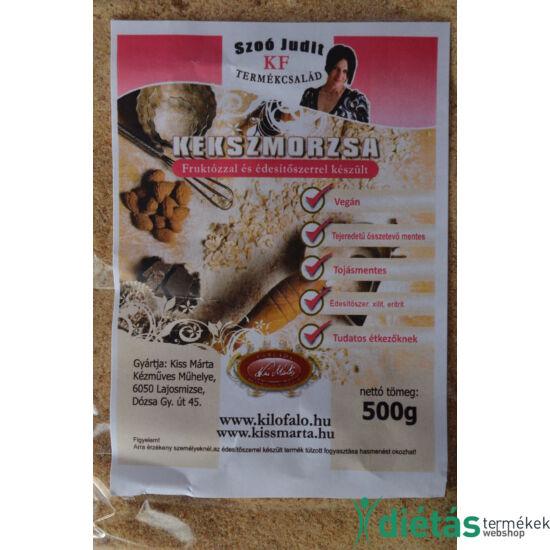 Szoó Judit - Kilófaló - Vegán, Szénhidrát-csökkentett kekszmorzsa 500 g