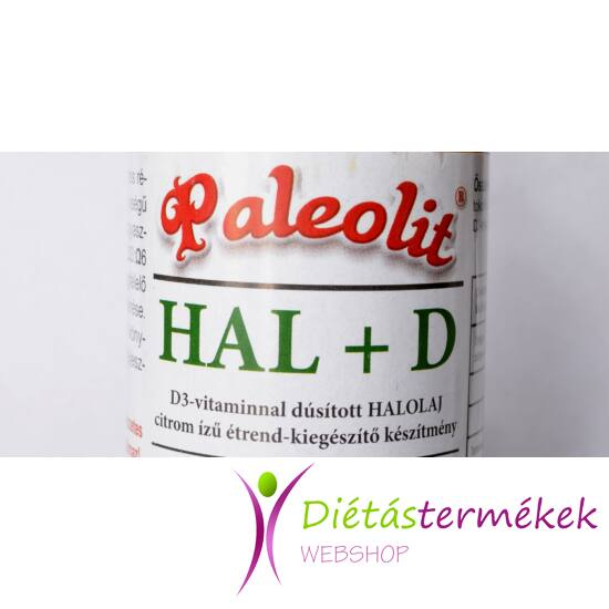 Paleo Halolaj +D vitamin 100ml