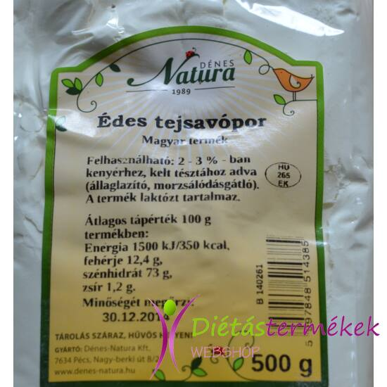 Dénes-Natura Édes Tejsavófehérje 500 g