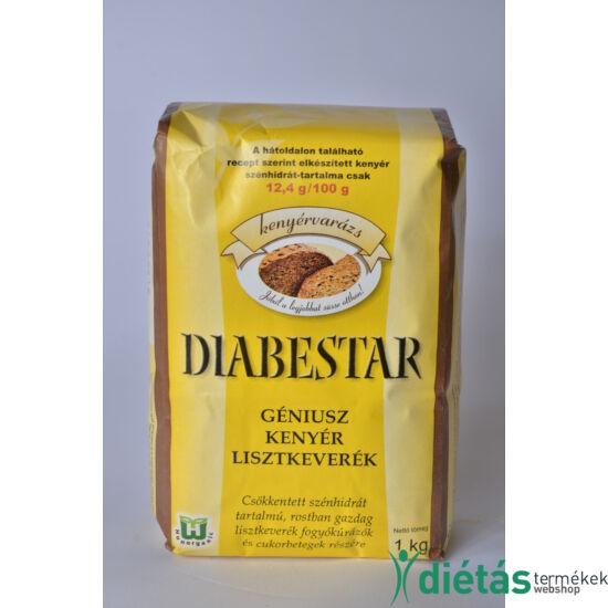 DIABESTAR Géniusz sokmagos kenyérliszt 1 kg