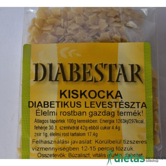 DIABESTAR KISKOCKA tészta 200 g