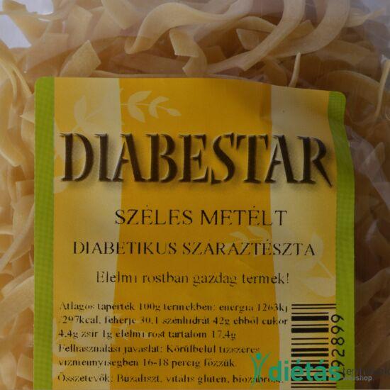 DIABESTAR SZÉLESMETÉLT tészta 200 g