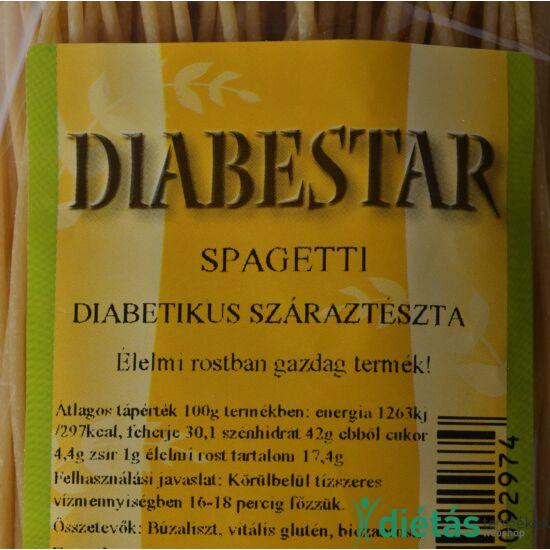 DIABESTAR SPAGETTI  tészta 200g