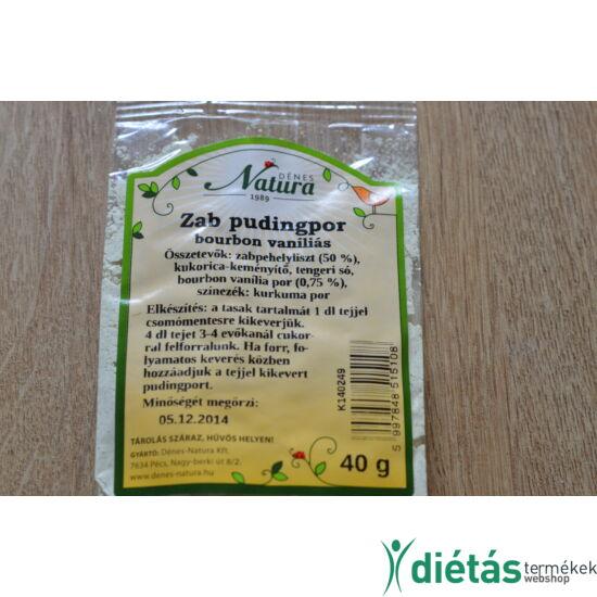 Dénes-Natura Zab pudingpor vaníliás 40 g
