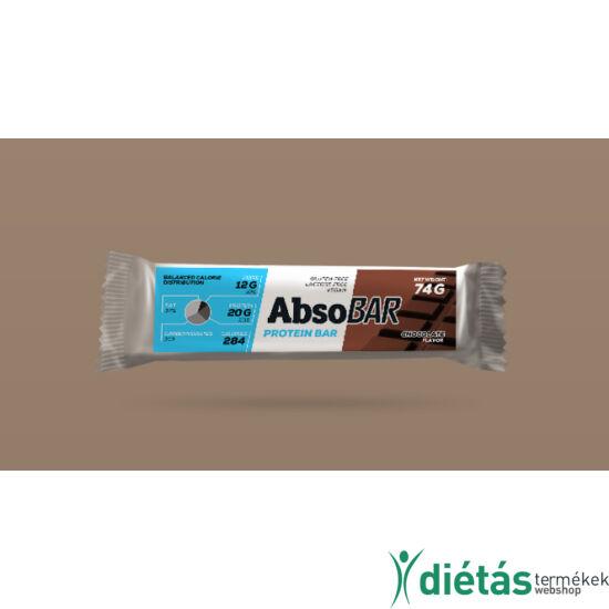 AbsoBar protein szelet csokoládés 74g