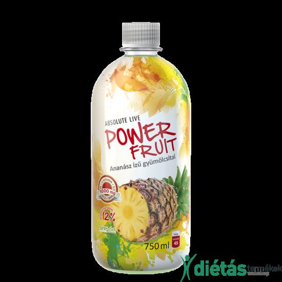Powerfruit ananászos gyümölcsital 750 ml