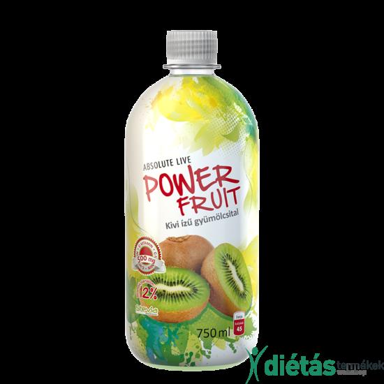 Absolute Powerfruit kiwi gyümölcsital 750 ml
